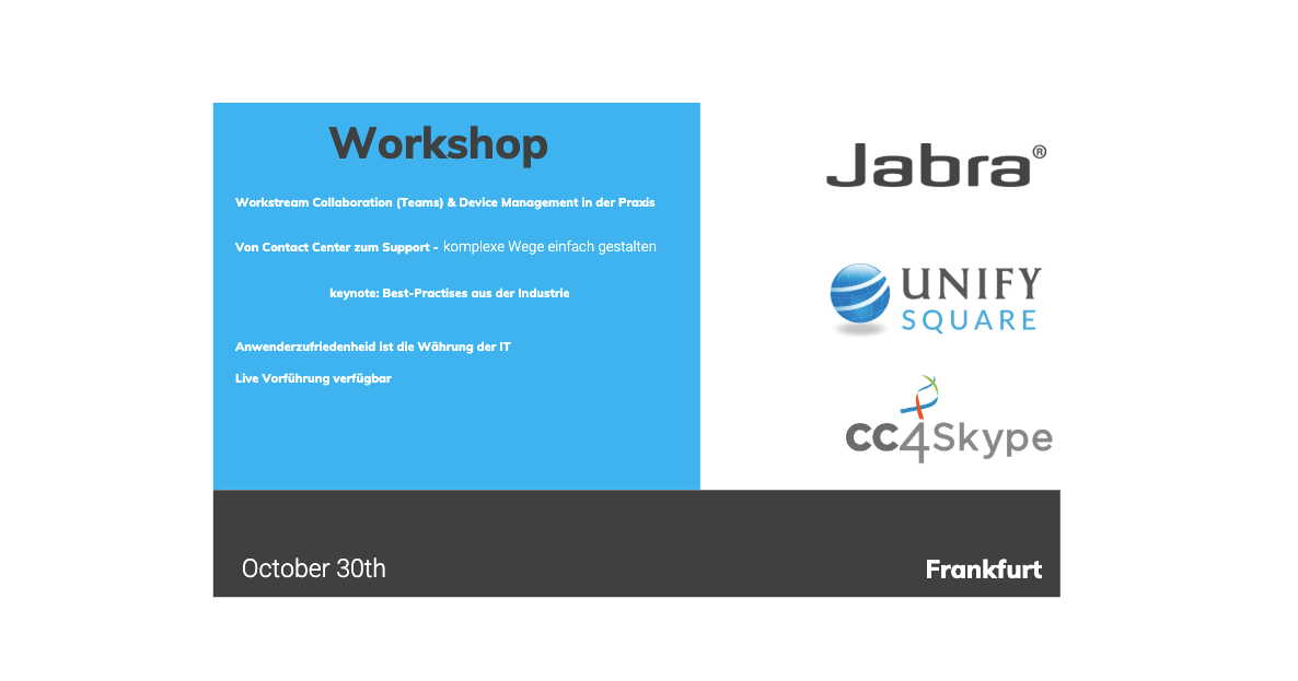 Workshop Frankfurt