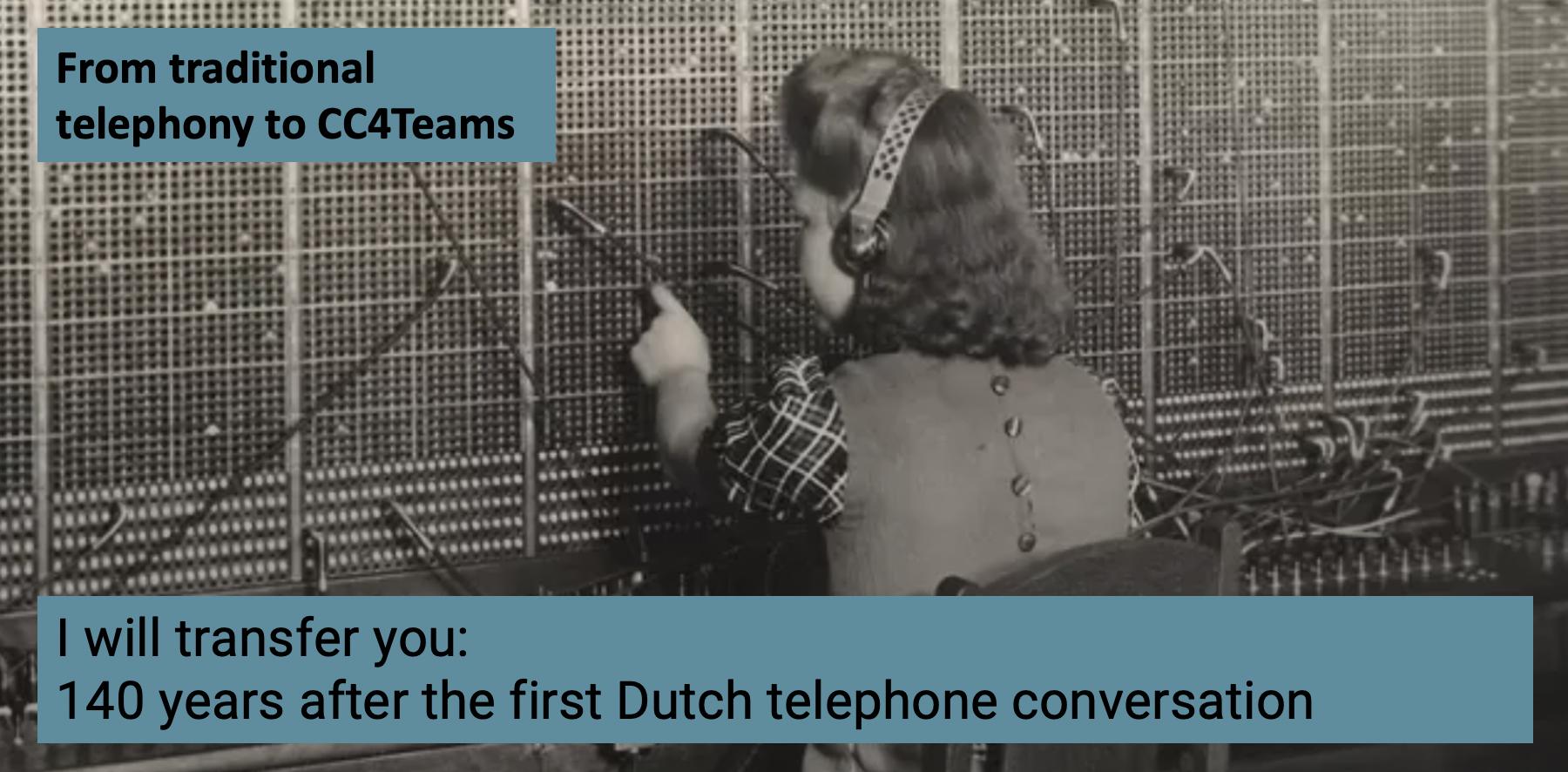 140 years of telephony