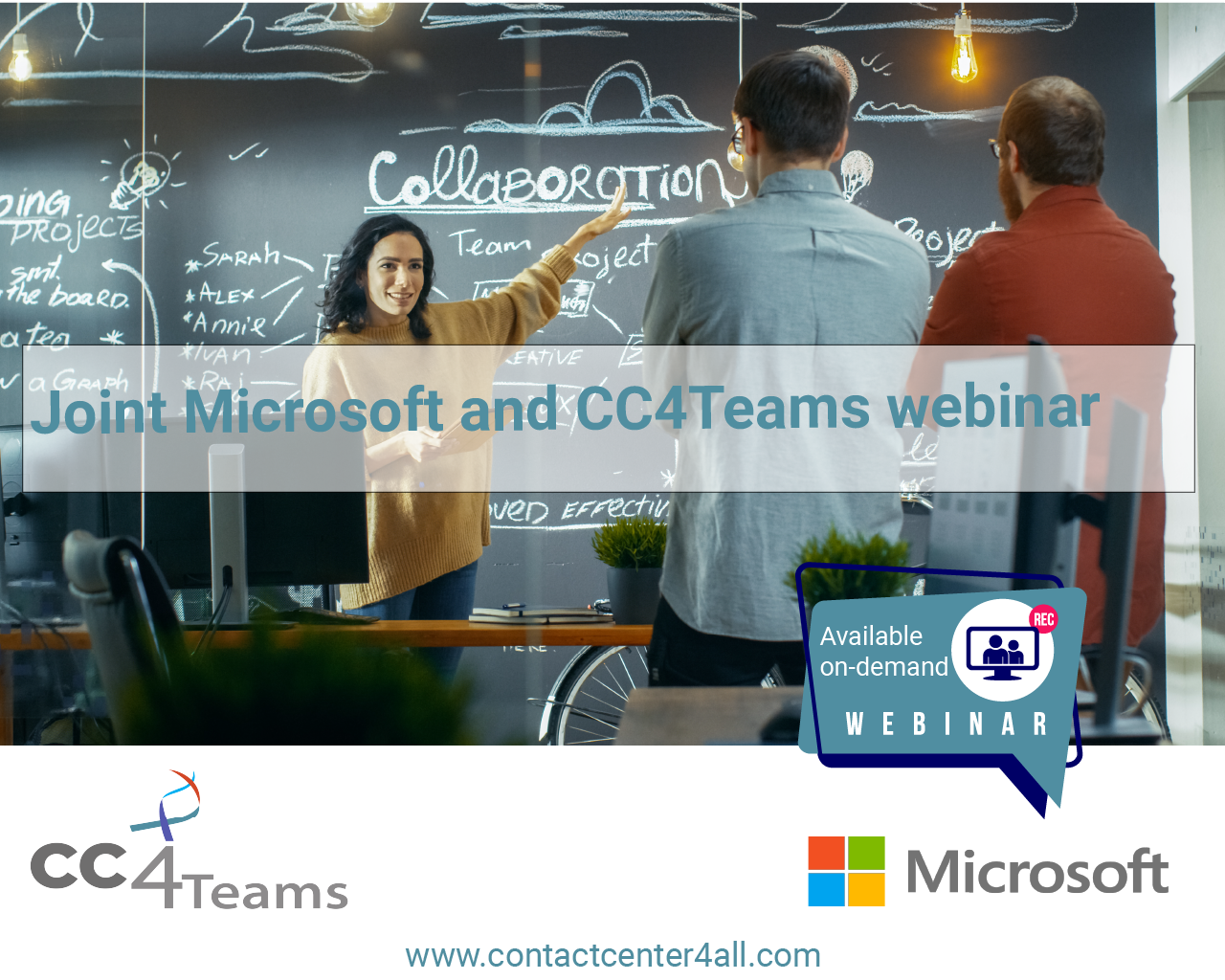 Joint webinar with Microsoft