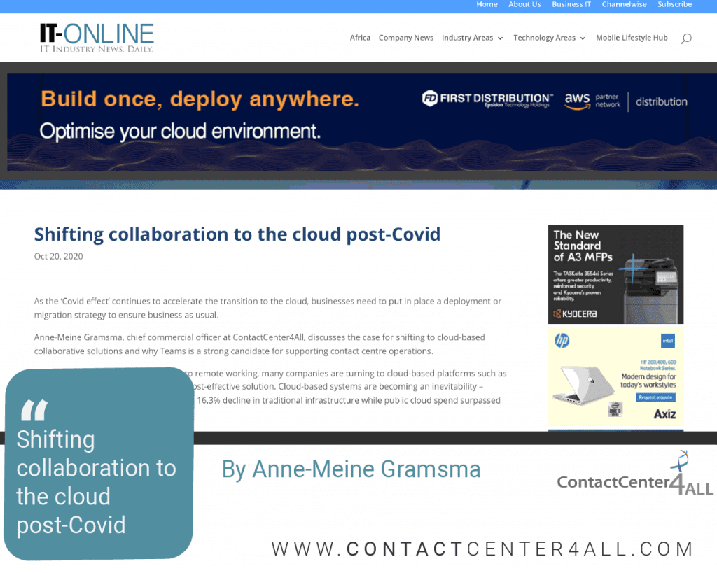 Shifting collaboration to the cloud post-Covid